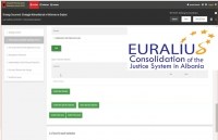 EURALIUS is currently assisting the MoJ in regard to the elaboration of the Cross-Sector Justice Strategy 2021-2021 and its Action Plan.