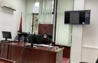 Tirana District Court conducts first remote hearing